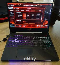 ASUS ROG Strix Scar 2 intel Core i7 RAM 32 Go nvidia GTX 1070 SSD 256 Go HDD 1To