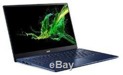 Acer SF514-54T-741T 14 Intel Core i7 16 Go RAM 512 Go SSD Tactile Bleu 0.99Kg
