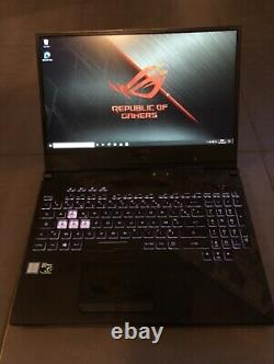 Asus ROG Strix Scar II GL504GS 15 Core i7-8750H 512 Go SSD +1To 16 Go GTX 1070