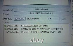Dell Inspiron 15Z 5523 Core i5 500 Go + SSD 32Go RAM 6Go sous Windows 10 Tactile