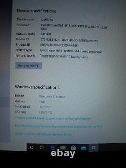 Dell Inspiron 7746 Touchscreen Core i5, SSD 256GB, 8GB RAM, Windows 10 Home 64