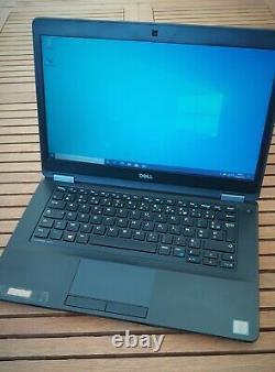 Dell Latitude E5470 Core i5 6300U / 2.4 GHz Win 10 Pro 64 bits