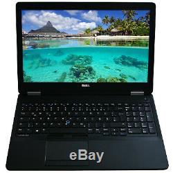 Dell Latitude E5570 15,6 Core i7 6820HQ 2,7GHz 16GB RAM 512GB SSD Full HD