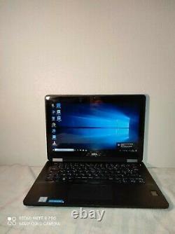 Dell Latitude E7270 12.5 Intel Core i7-5600U 2.6 Ghz Ram 8 Go SSD 256 G