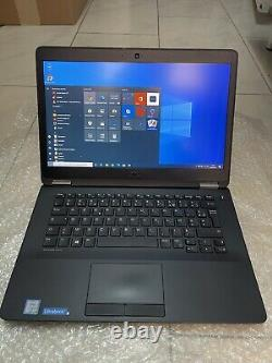 Dell Latitude E7470, 14 LED FullHD, Intel Core i5-6300U, Ram 8 Go, SSD 256 Go