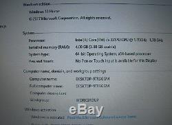 Dell XPS 14 L421X Intel Core i5 3337U 4 GB Ram 1000GB HDD +32GB SSD, Win10 64