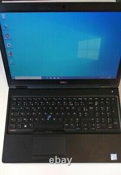 Dell latitude E5580 Core-i5 6200U, RAM 16Go SSD 256Go Nvme + HDD 500GB