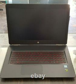 HP OMEN 17-W005NF Windows 10 Intel Core i7 2.8GHz 16Go 256Go SSD + 1 000Go