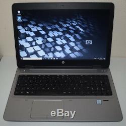 HP Probook 650 G2 core i5 8Go disque SSHD ou SSD 15,6 PCgarantie 6mois