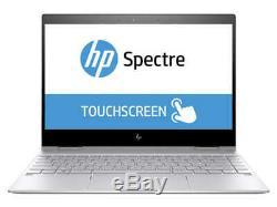 HP Spectre x360 Écran Tactile 13,3 FHD Intel Core i7-8550U, SSD 256Go, 8Go RAM