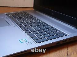 HP ZBook 15 G5 Core i7-8750H 2.2GHz 24Go 512Go SSD 15.6 IPS Matte FHD P1000