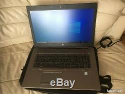 HP ZBook 17/ I7 /G5/Core I7 8750/Ram 16Go/Ssd 500Go/Hdd 1To/Gpu P2000