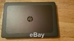HP Zbook 15 G4 Intel Core i7 7820HQ 2.9ghz, 48Go, 1 To SSD-M2200 Gtie HP