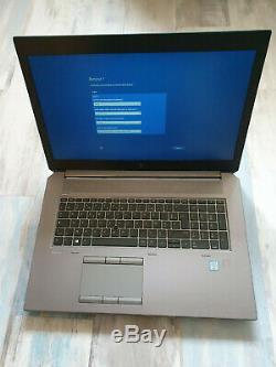 HP zBook 17 G5 Core i5-8400H 2.5GHz 17.3 FHD RAM 16GB SSD 512GB NVIDIA P2000