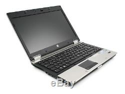 Hp Elitebook 8440p 14 Pouces 4GB RAM 128GB SSD Intel Core i5 Win 10