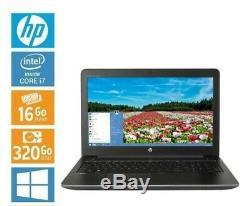 Hp zbook 15 Core i7 16go RAM SSD 320GO PROMO