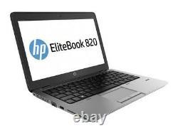 Laptop HP Elitebook 820 G2 12.5 Core I5 Wind10 Ram 8go Ssd128 -garantie 12 Mois