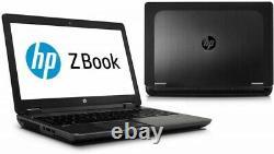 Laptop HP Zbook 15 G2 15.6 Core I7 Wind10 Ram 16go Ssd 240-garantie 12 Mois