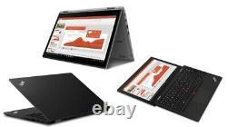 Lenovo ThinkPad L390 Yoga 13.3 Core i3-8145U/2.1GHz 8Go RAM 256Go SSD Noir