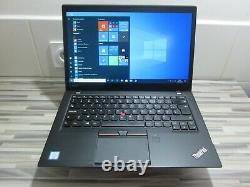 Lenovo ThinkPad T460s 14 Core i5 6200U 8 Go RAM 128 Go SSD Français