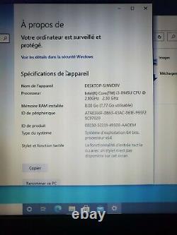 Lenovo ThinkPad T590 15.6 (8Go RAM, Intel Core i3-8145U, 256Go SSD) Win 10 PRO