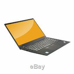 Lenovo ThinkPad X 1 Carbone 5e Gen Core i7-7600U 2,8 GHz 16GB RAM 512 GO SSD