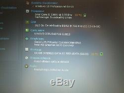 Lenovo Thinkpad T450 Core i5-5300U 16Go Ram SSD 120 Go Win10 Pro+Office 2019