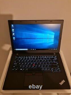 Lenovo Thinkpad T460 QWERTY 14 FHD core i5-6300U RAM 8Go SSD 256 Go