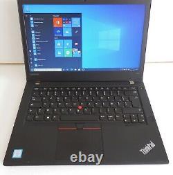 Lenovo Thinkpad T470 Intel Core i5-7300U 2.60GHz 8 Go RAM DD 256 Go SSD NVME