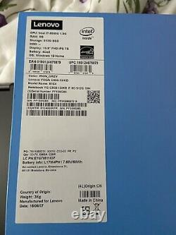 Lenovo Yoga C930-13IKB Core i7 8550U 8GB RAM 512GB SSD FHD AZERTY Win 10 HOME