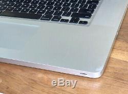 Macbook Pro 17 A1297 mi 2010 Intel Core i5 2,53GHz 8Go DDR3 240Go SSD
