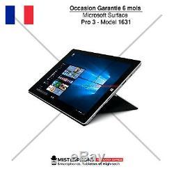 Microsoft Surface Pro 3 Model 1631 12 Core i5 1,9 GHz SSD 128 Go 4 Go