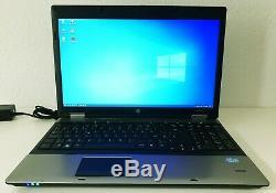 Ordinateur Portable HP 15,6 WXGA++ 1600x900, Intel Core i7, 8Go RAM, SSD 500Go
