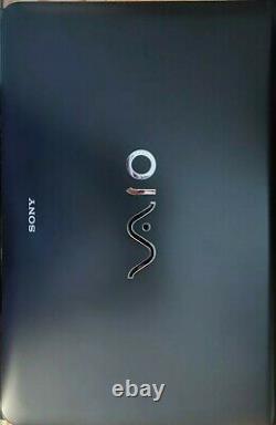 Ordinateur portable, SONY Vaio, intel core i5 + SSD, noir, 15.6