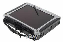 Panasonic Toughbook CF-19 MK6 Core i5 8 Go SSD 480 Go Win7 Win10 Tactile DIAG