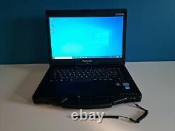 Panasonic Toughbook CF-53 mk3 14 core i5 RAM 8GO SSD 240 GO