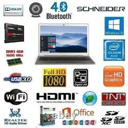 Pc Portable Intel Core 2 X 1.10 Ghz / 4 Go Ddr3 / SSD 120 Go / Intel HD 500 4K