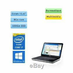 Pc portable Dell 15.6 HD core i7 8Go 500Go SSD windows 10