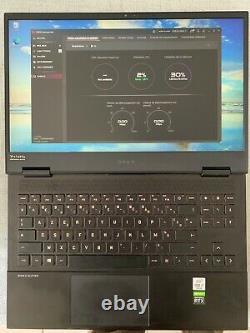 Pc portable gamer HP omen 15-ek0015nf core i7 rtx 2070 16 Go