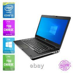 Rapide Dell Latitude E6440 Ordinateur Portable Core i5-4300M 16GB 480GB SSD 10