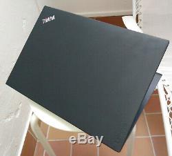 ThinkPad Lenovo T480, Core i7 4 curs, 32 Go de RAM, SSD NVME 480 Go, CG Nvidia