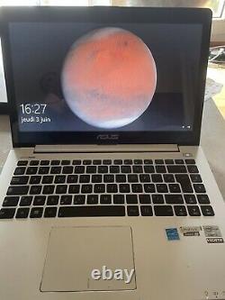 Ultrabook Asus VivoBook S400c. Écran Tactile 14 Pouces. Core I5